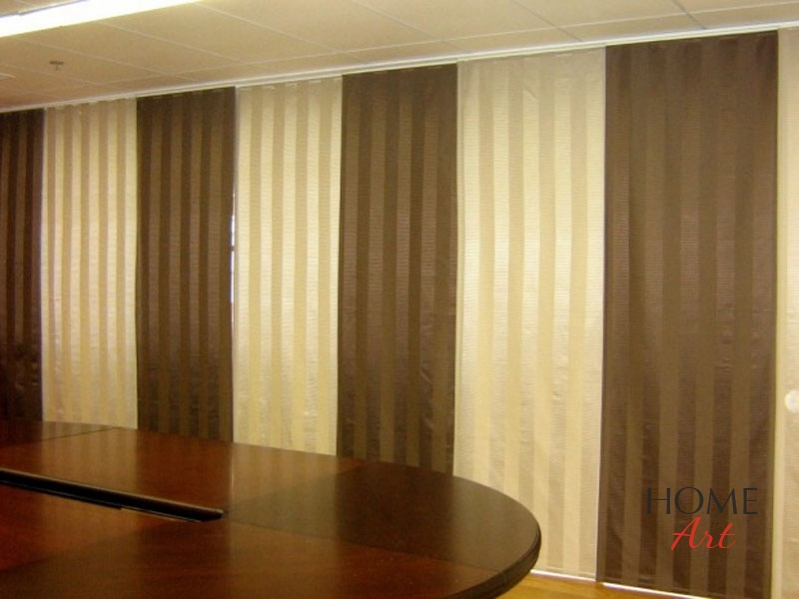 Japanese Panel System Curtains Home Art